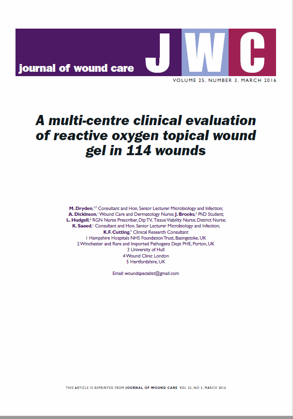 A multi-centre clinical evaluation of SurgihoneyRO™ in 114 wounds