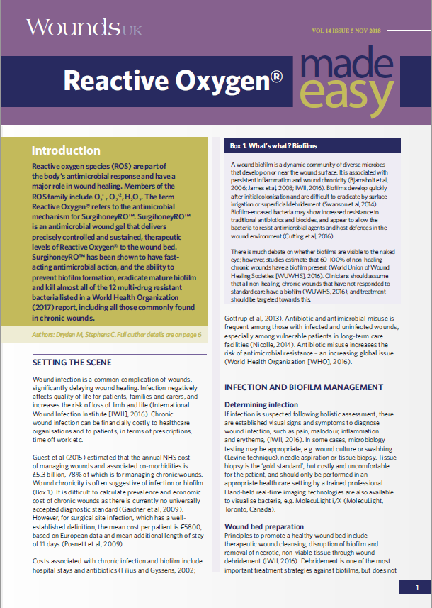 Reactive Oxygen® Made Easy